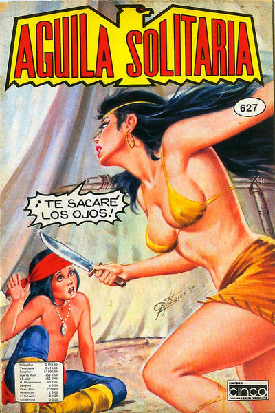 Cover for Aguila Solitaria (Editora Cinco, 1976 ? series) #627