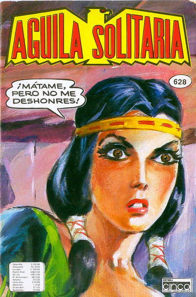 Cover for Aguila Solitaria (Editora Cinco, 1976 ? series) #628