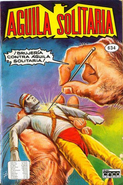 Cover for Aguila Solitaria (Editora Cinco, 1976 ? series) #634