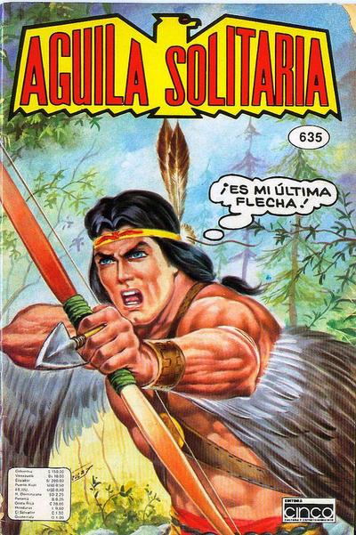 Cover for Aguila Solitaria (Editora Cinco, 1976 ? series) #635