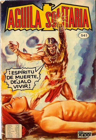 Cover for Aguila Solitaria (Editora Cinco, 1976 ? series) #541