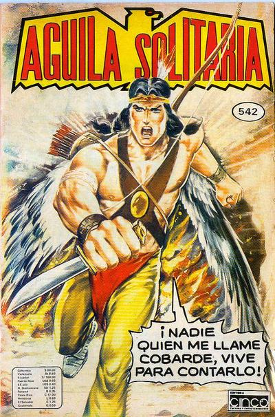 Cover for Aguila Solitaria (Editora Cinco, 1976 ? series) #542