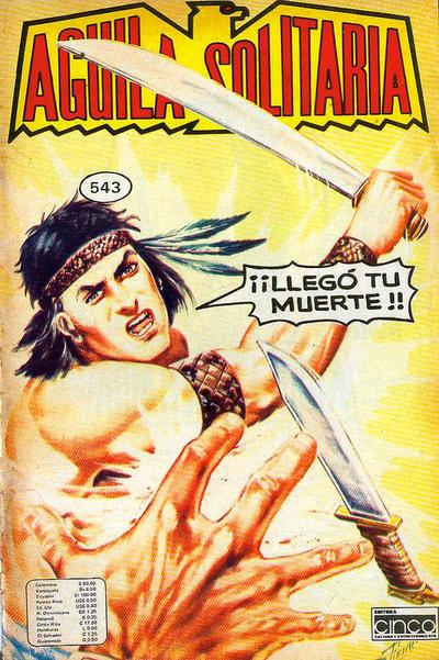Cover for Aguila Solitaria (Editora Cinco, 1976 ? series) #543