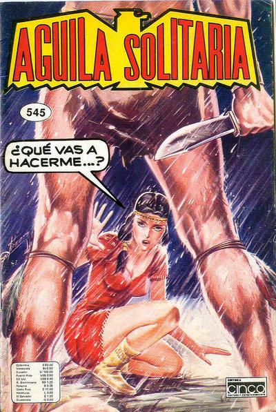 Cover for Aguila Solitaria (Editora Cinco, 1976 ? series) #545