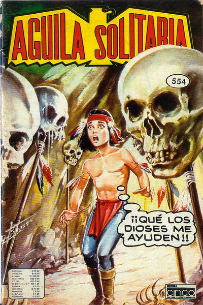 Cover for Aguila Solitaria (Editora Cinco, 1976 ? series) #554