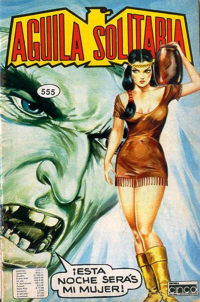 Cover for Aguila Solitaria (Editora Cinco, 1976 ? series) #555