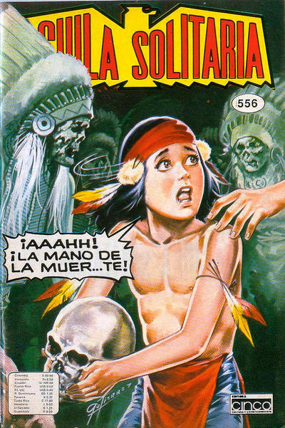 Cover for Aguila Solitaria (Editora Cinco, 1976 ? series) #556