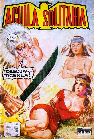 Cover for Aguila Solitaria (Editora Cinco, 1976 ? series) #557