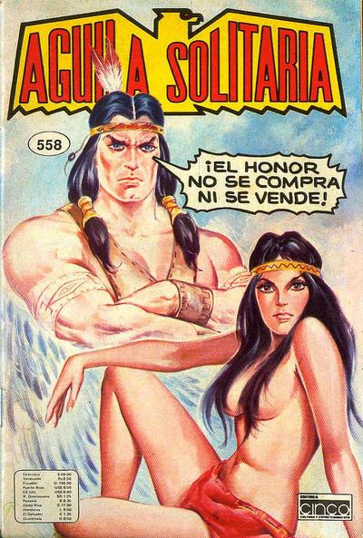 Cover for Aguila Solitaria (Editora Cinco, 1976 ? series) #558