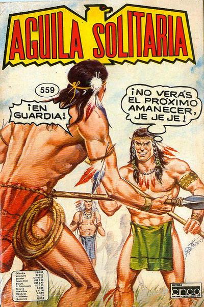 Cover for Aguila Solitaria (Editora Cinco, 1976 ? series) #559