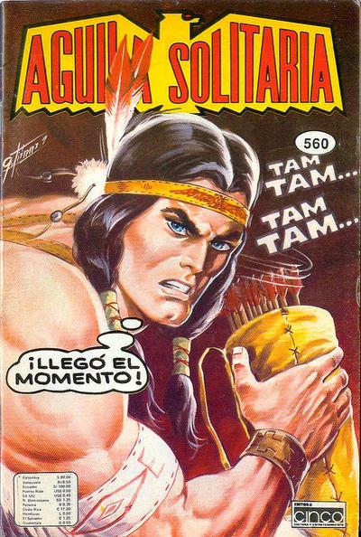 Cover for Aguila Solitaria (Editora Cinco, 1976 ? series) #560