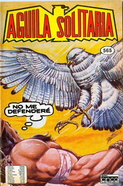 Cover for Aguila Solitaria (Editora Cinco, 1976 ? series) #565