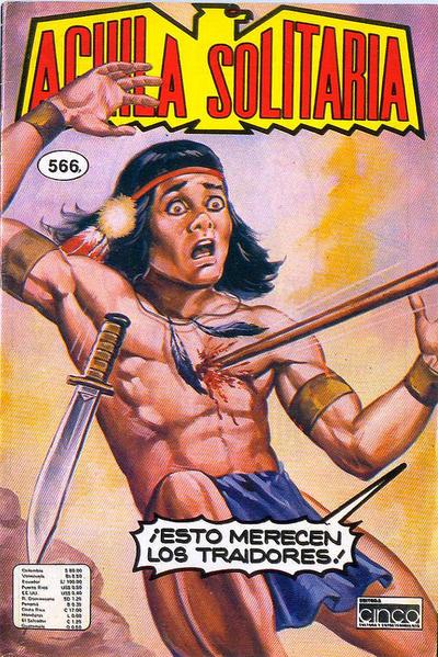 Cover for Aguila Solitaria (Editora Cinco, 1976 ? series) #566