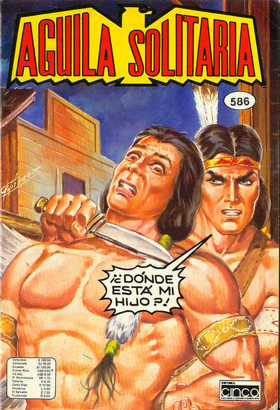 Cover for Aguila Solitaria (Editora Cinco, 1976 ? series) #586