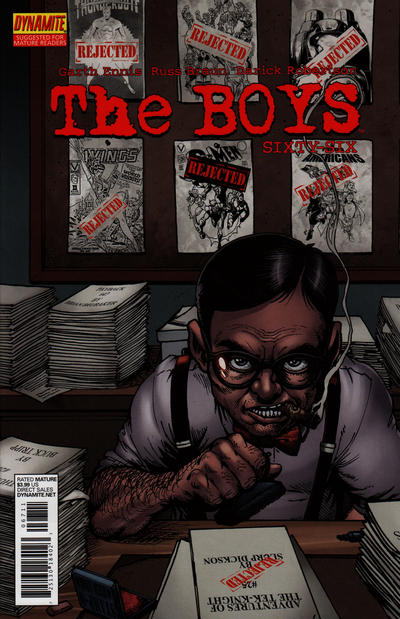 Cover for The Boys (Dynamite Entertainment, 2007 series) #67