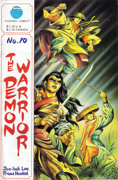 Cover for The Demon Warrior (Eastern Comics, 1987 series) #10