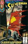 Cover Thumbnail for Superman (1987 series) #75 [Direct]