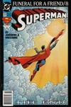 Cover Thumbnail for Superman (1987 series) #77 [Newsstand]