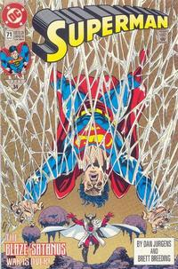 Cover Thumbnail for Superman (DC, 1987 series) #71