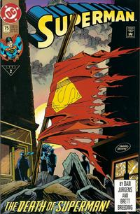 Cover Thumbnail for Superman (DC, 1987 series) #75 [Direct]