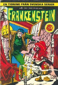 Cover Thumbnail for Frankenstein (Svenska serier, 1973 series) #3/[1973]
