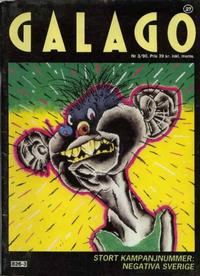 Cover for Galago (Atlantic Förlags AB; Tago, 1980 series) #27 - 3/1990