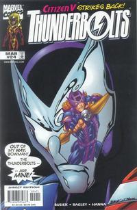 Cover Thumbnail for Thunderbolts (Marvel, 1997 series) #24