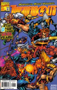 Cover Thumbnail for Thunderbolts (Marvel, 1997 series) #25
