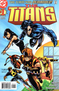 Cover Thumbnail for Titans (DC, 1999 series) #1 [Left-Side Cover Variant]