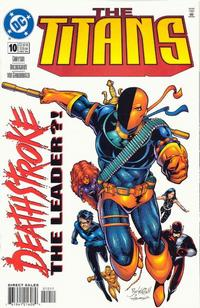 Cover Thumbnail for The Titans (DC, 1999 series) #10 [Direct Sales]