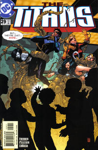 Cover Thumbnail for Titans (DC, 1999 series) #29 [Direct Sales]