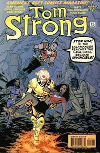 Cover Thumbnail for Tom Strong (DC, 1999 series) #15