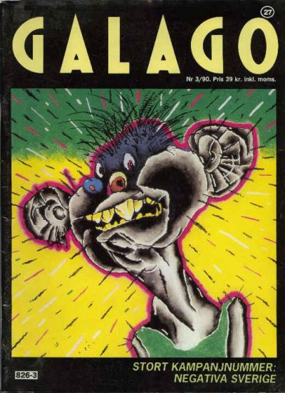 Cover for Galago (Atlantic Förlags AB; Tago, 1980 series) #27 - 3/1990