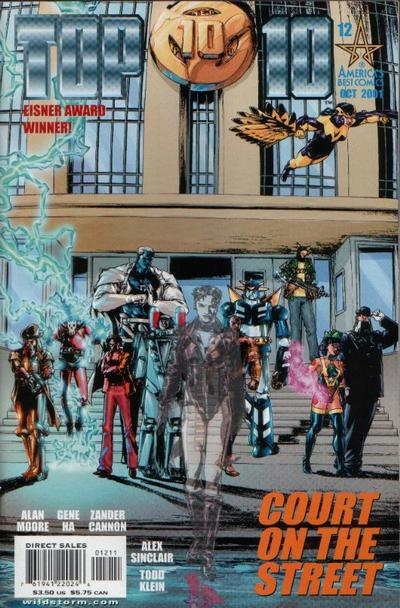 Cover for Top 10 (DC, 1999 series) #12