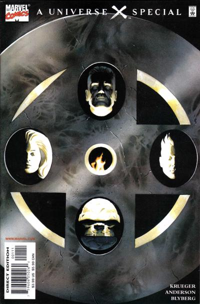 Cover for 4 [Universe X] (Marvel, 2000 series) #1 [Direct Edition]