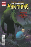 Cover for Infernal Man-Thing (Marvel, 2012 series) #1 [Incentive Kevin Nowlan Variant Cover ]