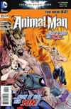 Cover for Animal Man (DC, 2011 series) #11