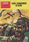 Cover for Seriemagasinet (Serieforlaget / Se-Bladene / Stabenfeldt, 1951 series) #10/1965