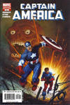 Cover for Captain America (Marvel, 2005 series) #8 [Direct Edition Cover B]