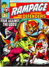 Cover for Rampage (Marvel UK, 1977 series) #4