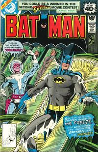 Cover Thumbnail for Batman (DC, 1940 series) #308 [Whitman Variant]