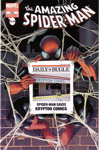 Cover Thumbnail for The Amazing Spider-Man (Marvel, 1999 series) #666 [Krypton Comics store variant]