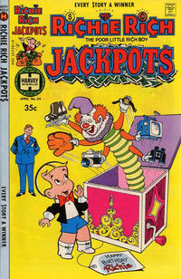 Cover Thumbnail for Richie Rich Jackpots (Harvey, 1972 series) #34