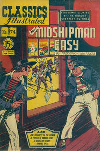 Cover Thumbnail for Classics Illustrated (Gilberton, 1948 series) #74