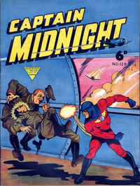 Cover Thumbnail for Captain Midnight (L. Miller & Son, 1950 series) #129
