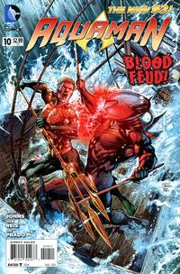 Cover Thumbnail for Aquaman (DC, 2011 series) #10