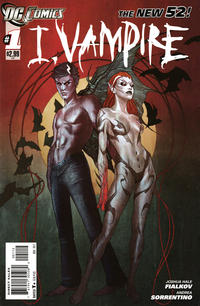 Cover Thumbnail for I, Vampire (DC, 2011 series) #1 [Second Printing]