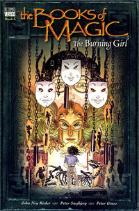 Cover Thumbnail for The Books of Magic (DC, 1995 series) #6 - The Burning Girl