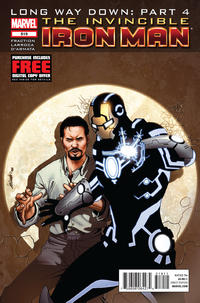 Cover Thumbnail for Invincible Iron Man (Marvel, 2008 series) #519