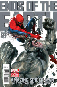 Cover Thumbnail for The Amazing Spider-Man (Marvel, 1999 series) #687 [Dell'Otto Variant]